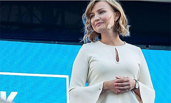 Ebba Busch Thor i Almedalen 2017