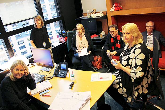 Svenska socialdemokratiska euparlamentariker 2017. <br /><p id=